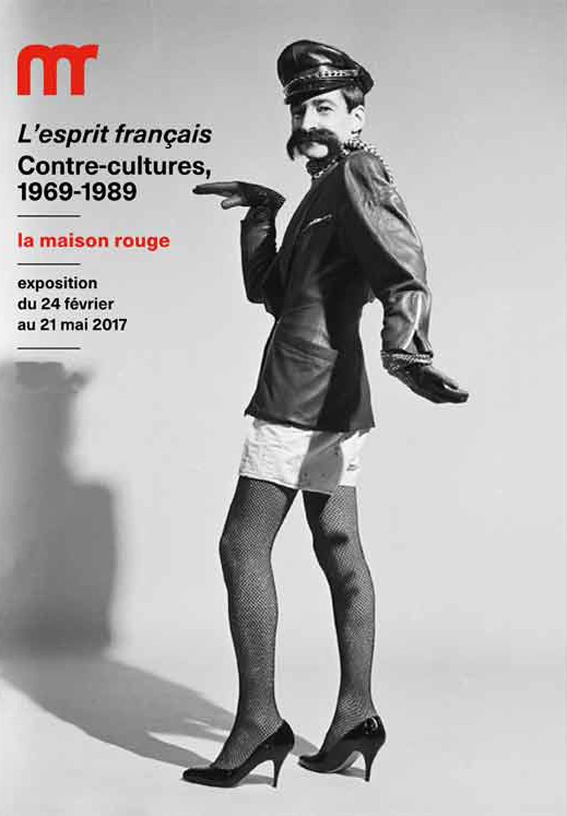 Expo Collective Contemporaine: L'Esprit Français, Contre-Cultures 1969-1989
