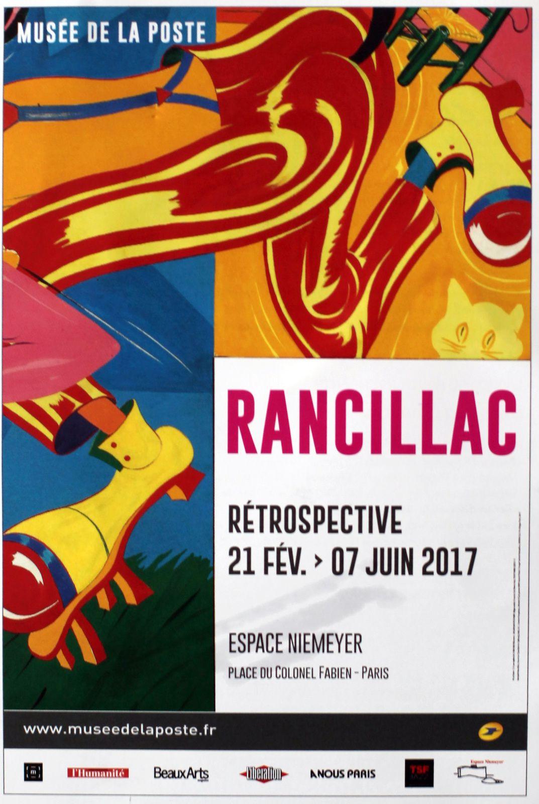 Expo Rétrospective Contemporaine: RANCILLAC