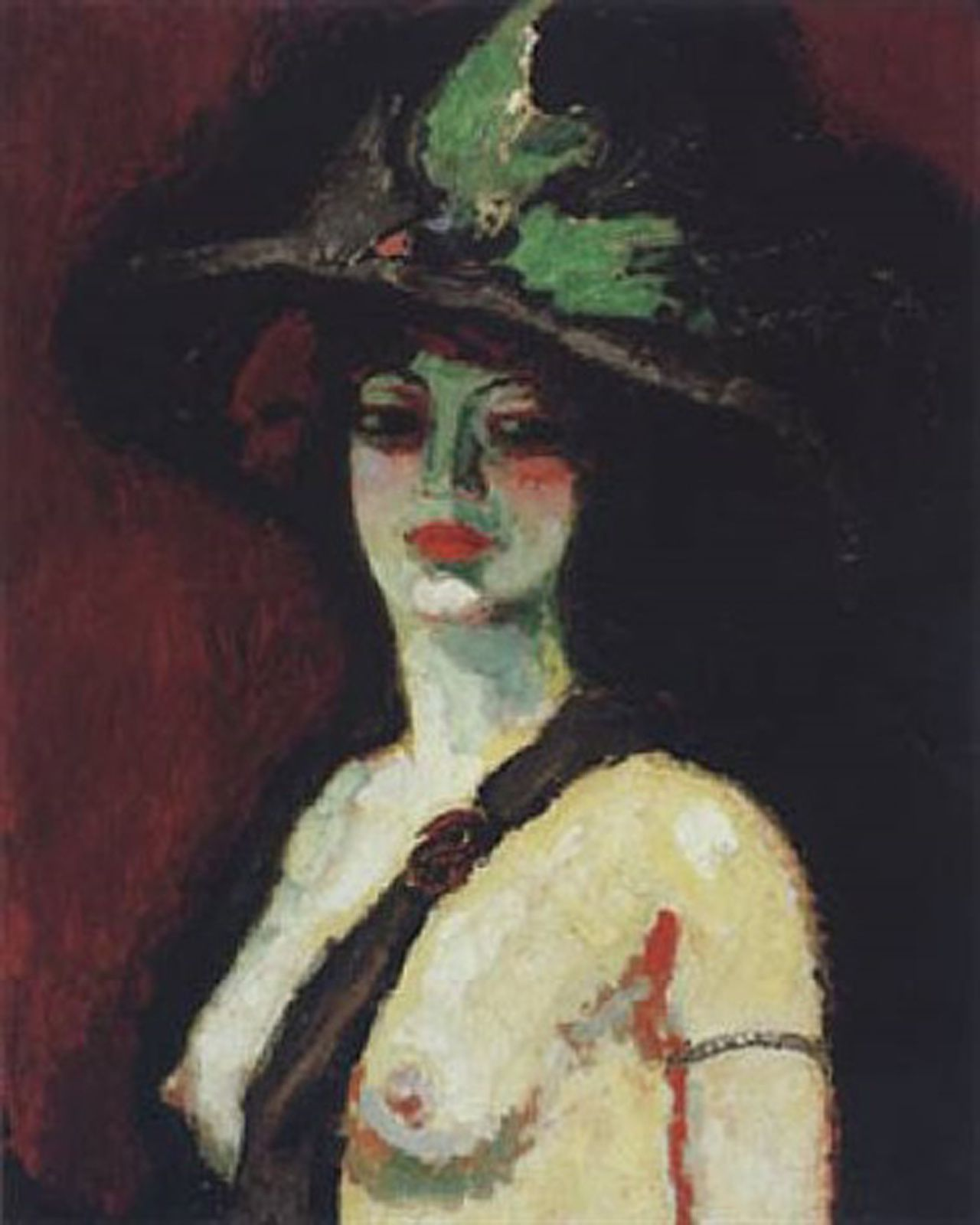 """Femme au chapeau"", 1906 de Kees Van Dongen - Courtesy Collection Alicia KOPLOWITZ - Grupo Omega Capital"
