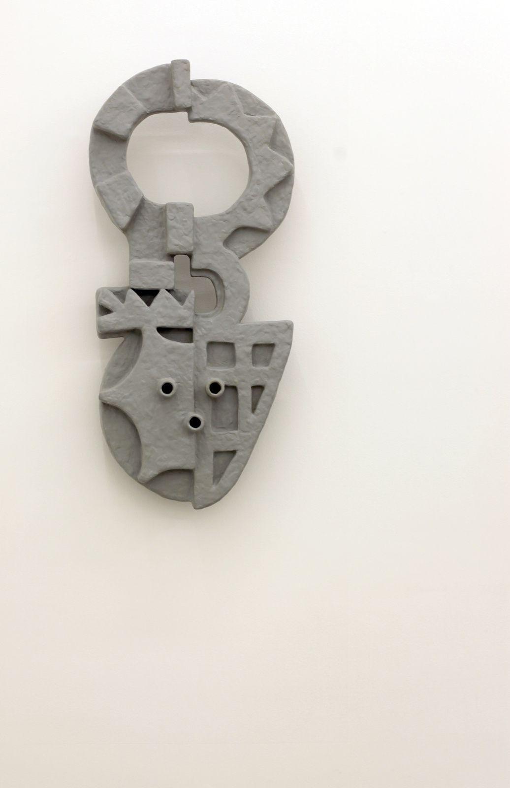 """""""Relief (Mask I)"""", 2017 de Nathan MABRY - Courtesy Galerie Praz-Delavallade © Photo Éric Simon"""