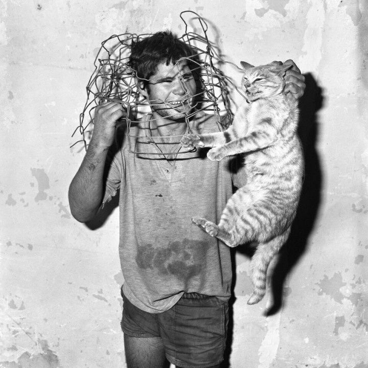 """Cat Catcher"", 1998 de Roger BALLEN - Courtesy Collection Privée © Photo Éric Simon"