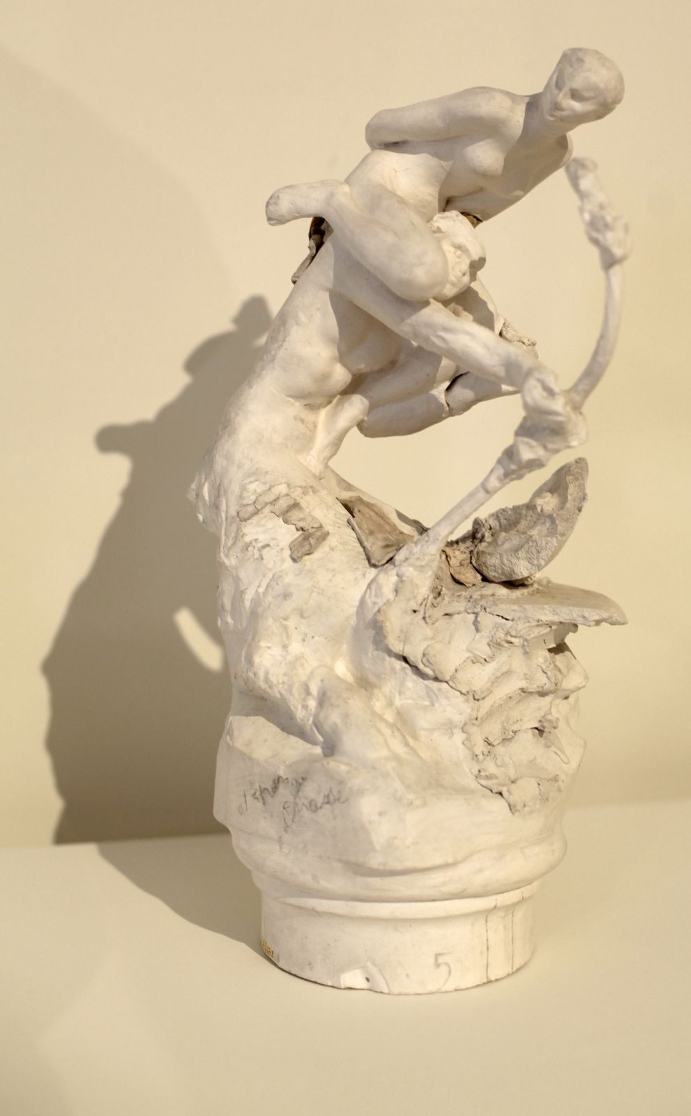 """Faune à l'arc"", avant 1899 de Auguste RODIN - Courtesy Musée RODIN © Photo Éric Simon"