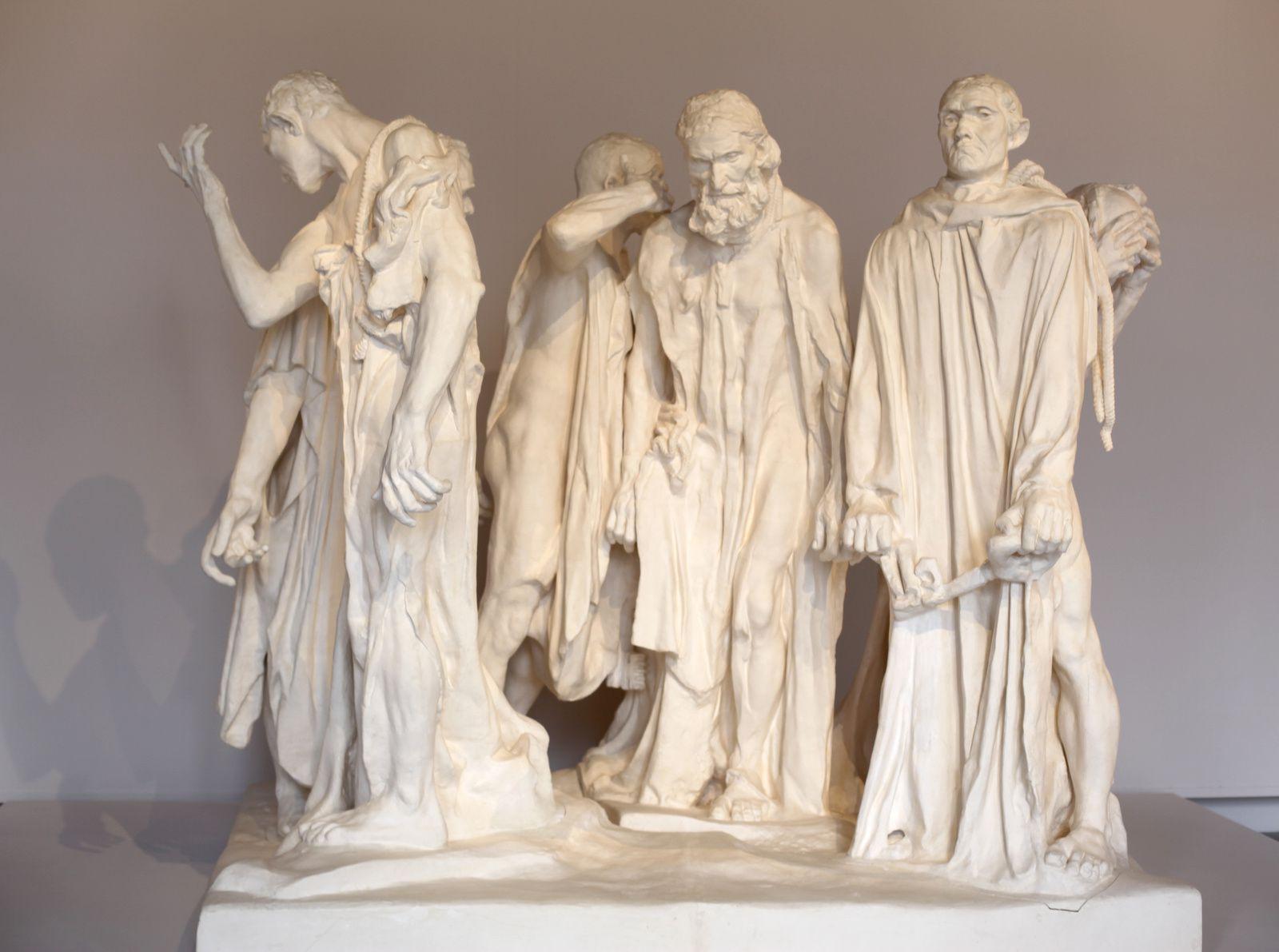 """""""Monument aux Bourgeois de Calais"""", 1889 de Auguste RODIN - Courtesy Musée RODIN © Photo Éric Simon"""