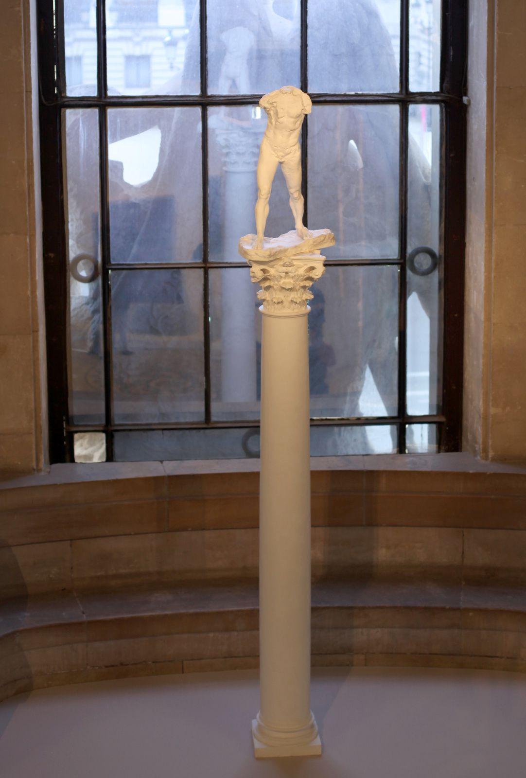 """""""Homme qui marche sur colonne"""", 1900 de Auguste RODIN - Courtesy Musée RODIN © Photo Éric Simon"""
