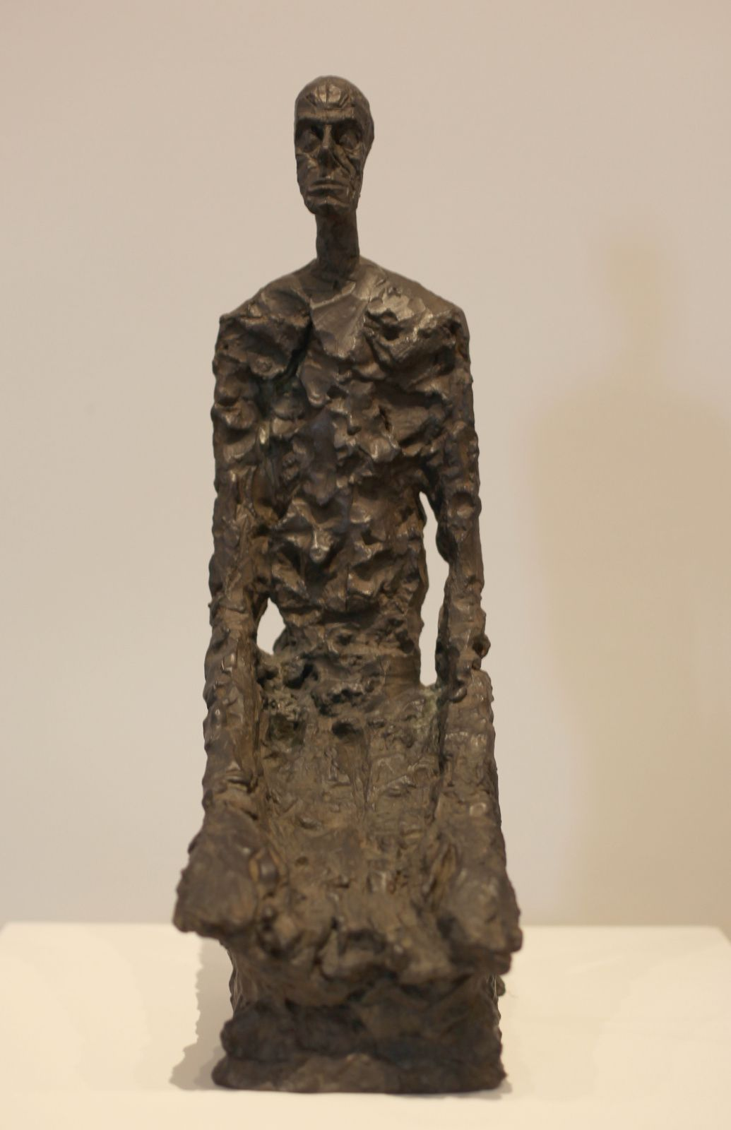 """Homme à mi-corps"", 1965 d'Alberto GIACOMETTI - Courtesy Fondation Giacometti, Paris © Photo Éric Simon"