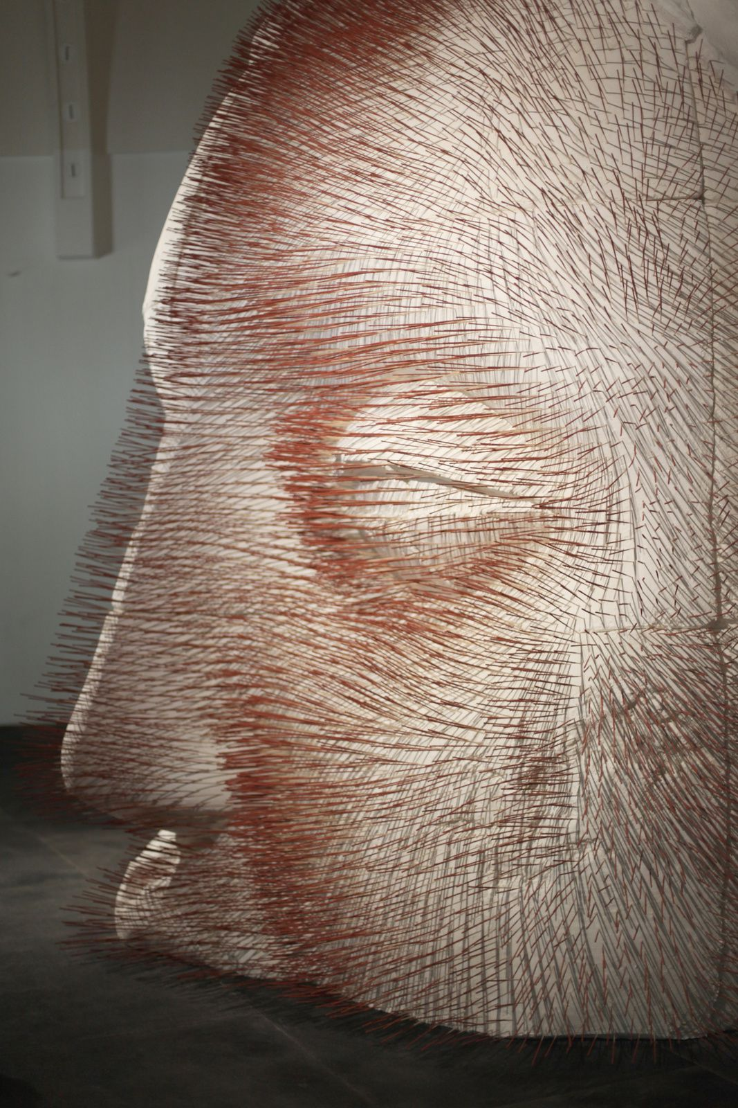 """""""Fragments du Bouddha (tête)"""" de Prune NOURRY © Photo Éric Simon"""