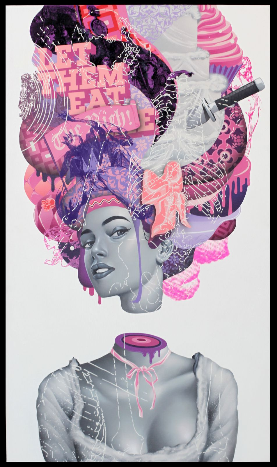 """The October March"" de Tristan EATON - Courtesy Galerie Itinerrance © Photo Éric Simon"