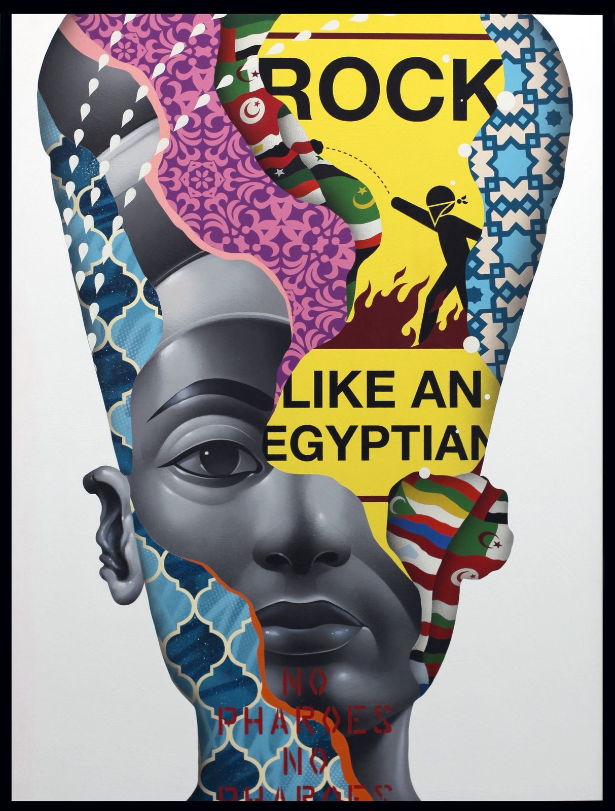 """The Arab Spring"" de Tristan EATON - Courtesy Galerie Itinerrance © Photo Éric Simon"