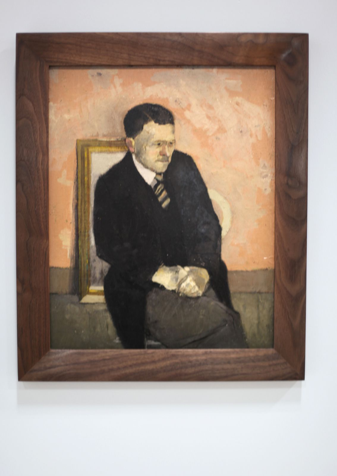 """Portrait of my Father, 1955 de David HOCKNEY - Courtesy Collection de l'artiste"