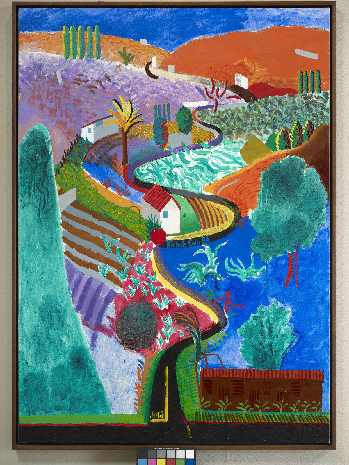 """Nichols Canyon"", 1980 de David HOCKNEY - Photo Prudence Cuming Associates"