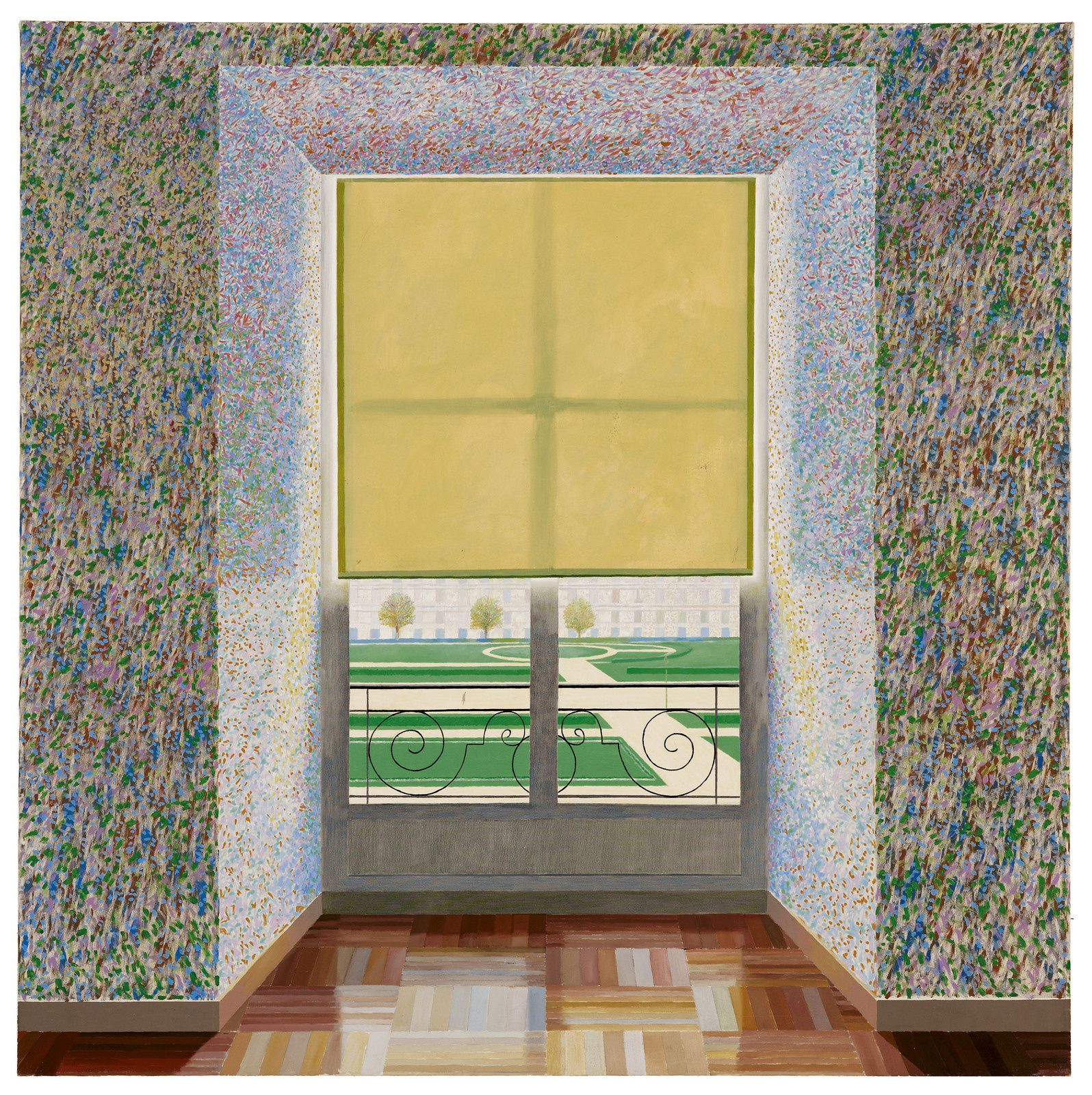 """Contre-jour in the French Style"", 1974 de David HOCKNEY - Courtesy Collection Ludwing Museum, Budapest"