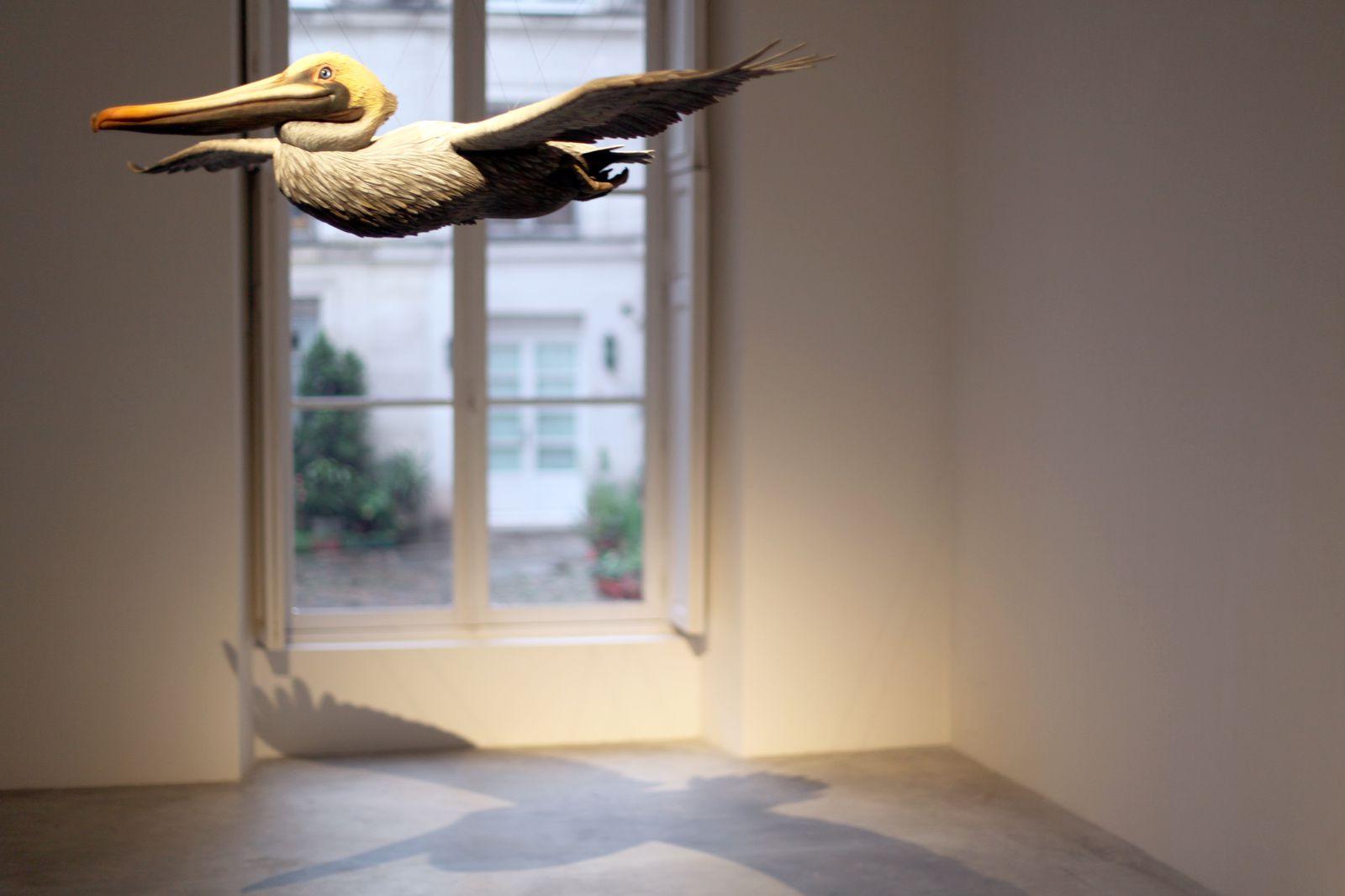 """Pelican"", 2017 d'Alex ISRAËL - Courtesy Almine RECH Gallery © Photo Éric Simon"