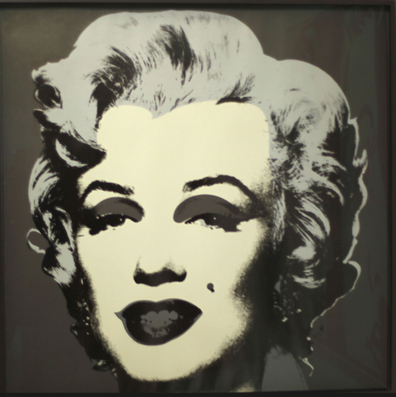 """""""Marilyn"""", 1967 d'Andy WARHOL - Courtesy Whitney Museum of American Art © Photo Éric Simon"""