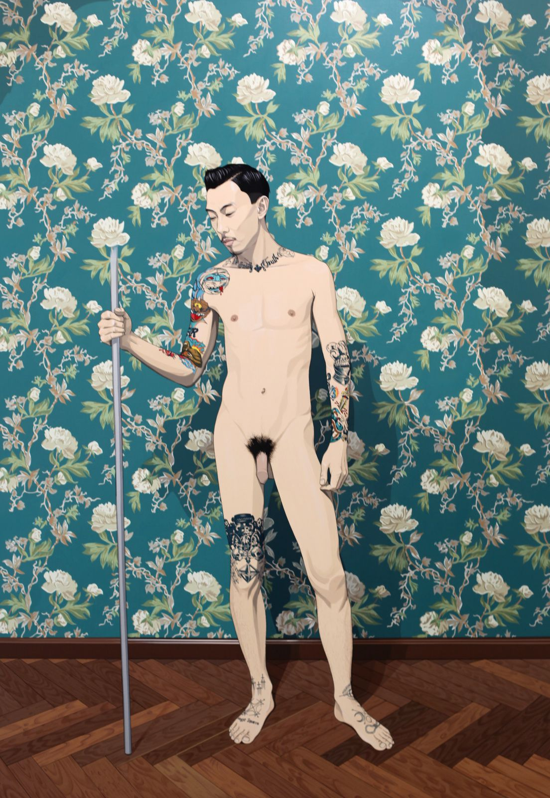 """""""Big Model"""", 2017 de CHEN FEI - Courtesy Galerie Perrotin © Photo Éric Simon"""