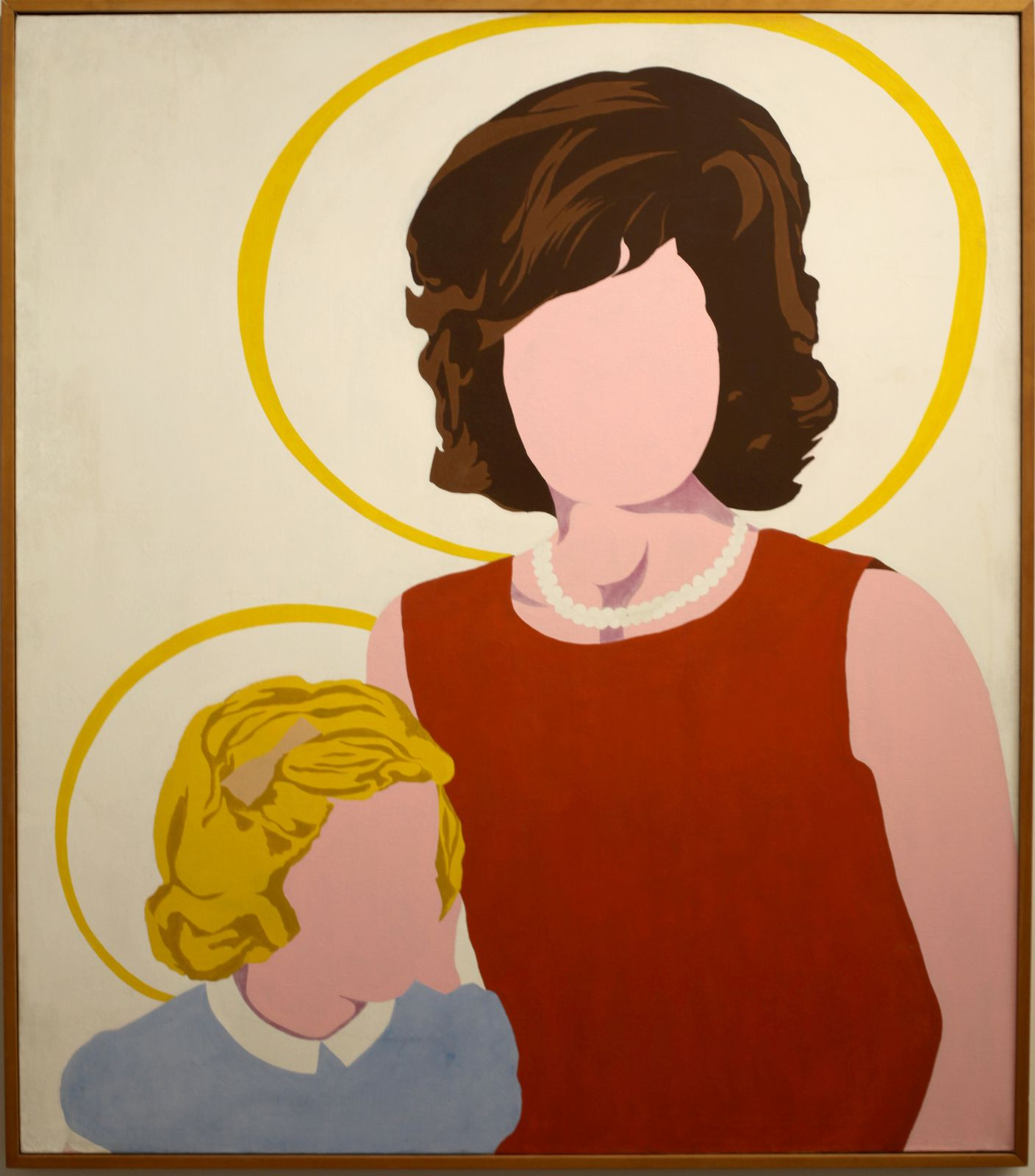 """""""MadonnA and Child"""", 1963 d'Allan d'ARCANGELO - Courtesy Whitney Museum of American Art © Photo Éric Simon"""