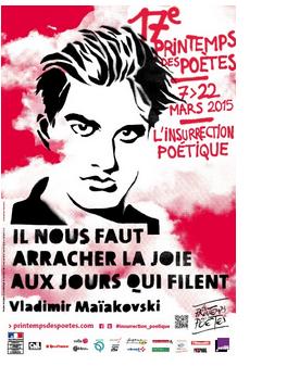 Le printemps des poètes : édition 2015