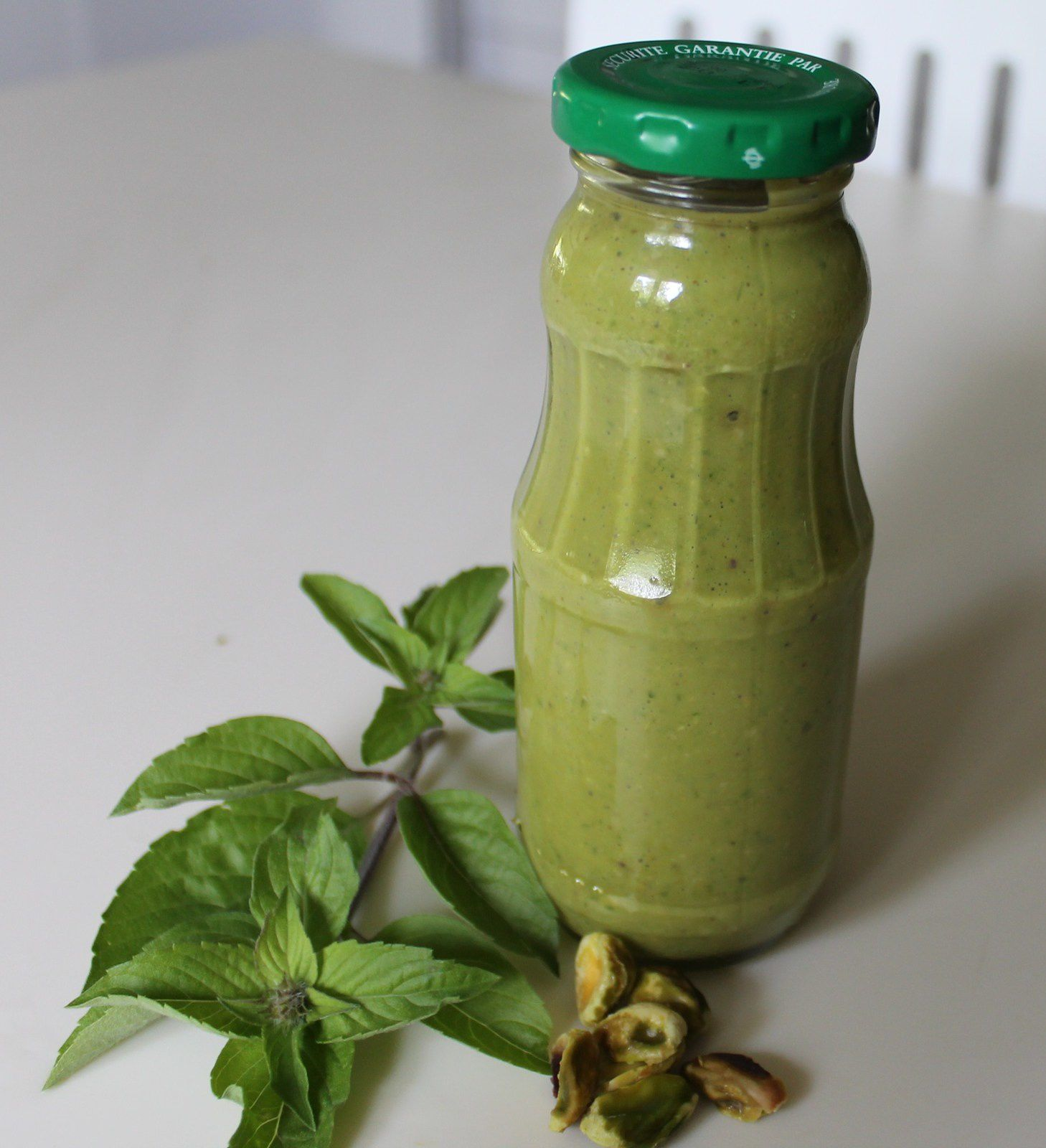 Pesto basilic pistaches