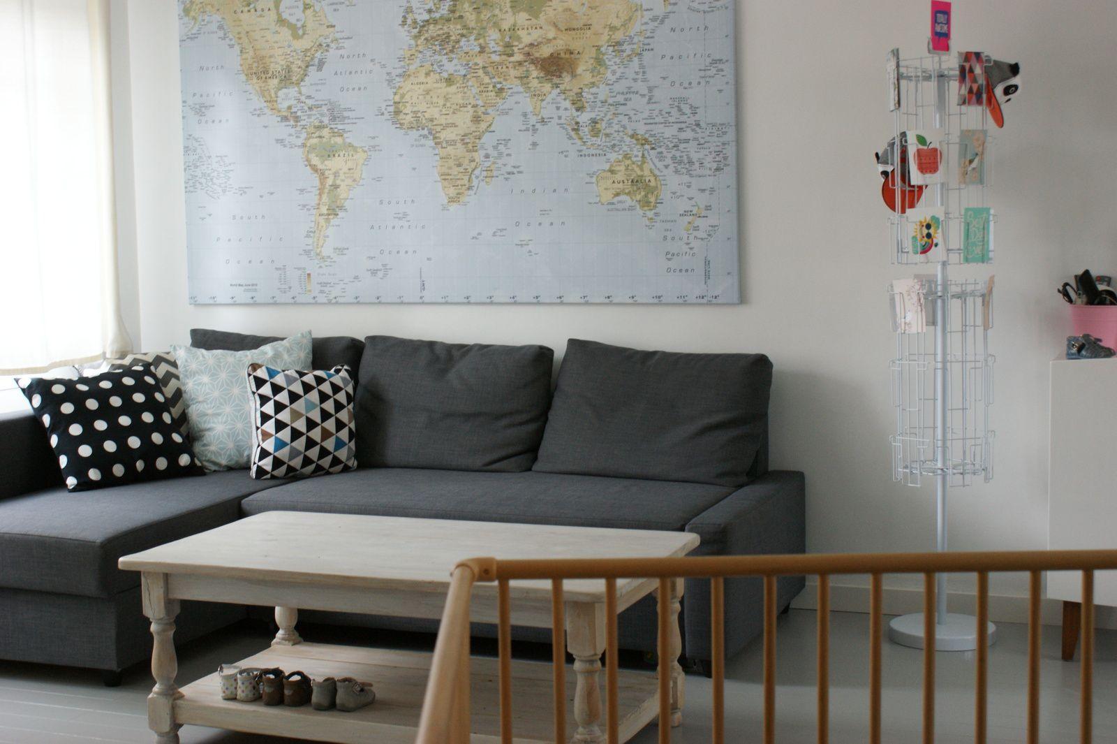Le nouveau salon : quelques photos!