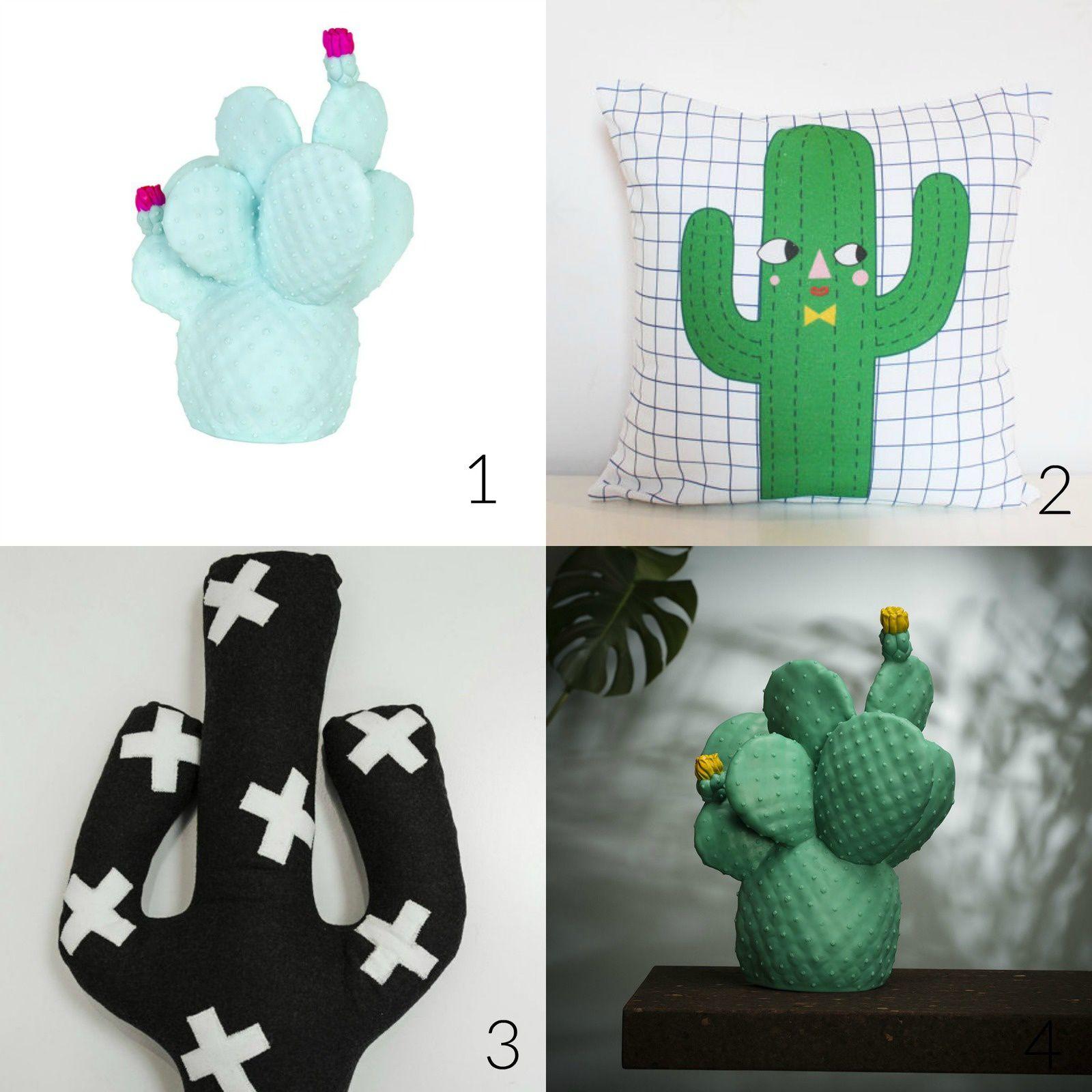 Les cactus en déco, petite sélection !