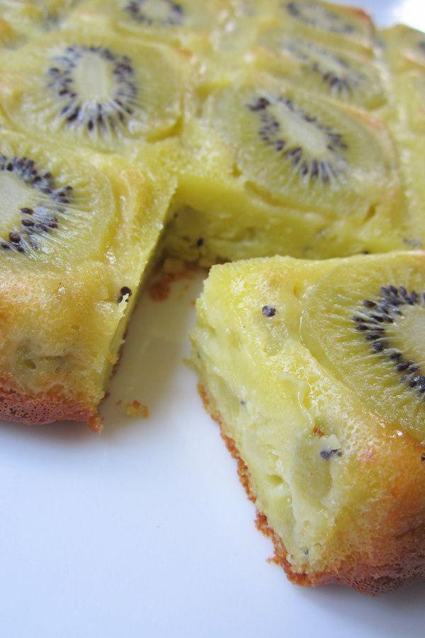 Recette de gateau banane kiwi
