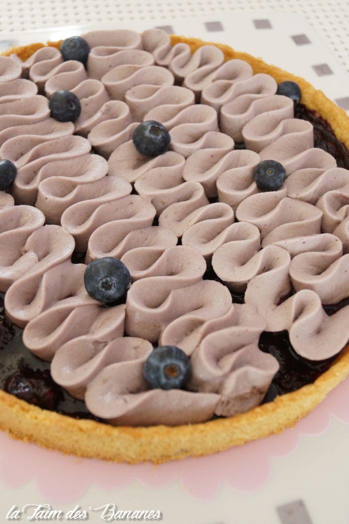 La tarte aux myrtilles d'E. Kayser