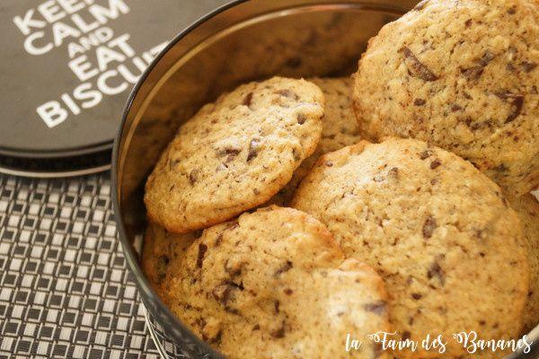 Les cookies chocolat banane de Maxime