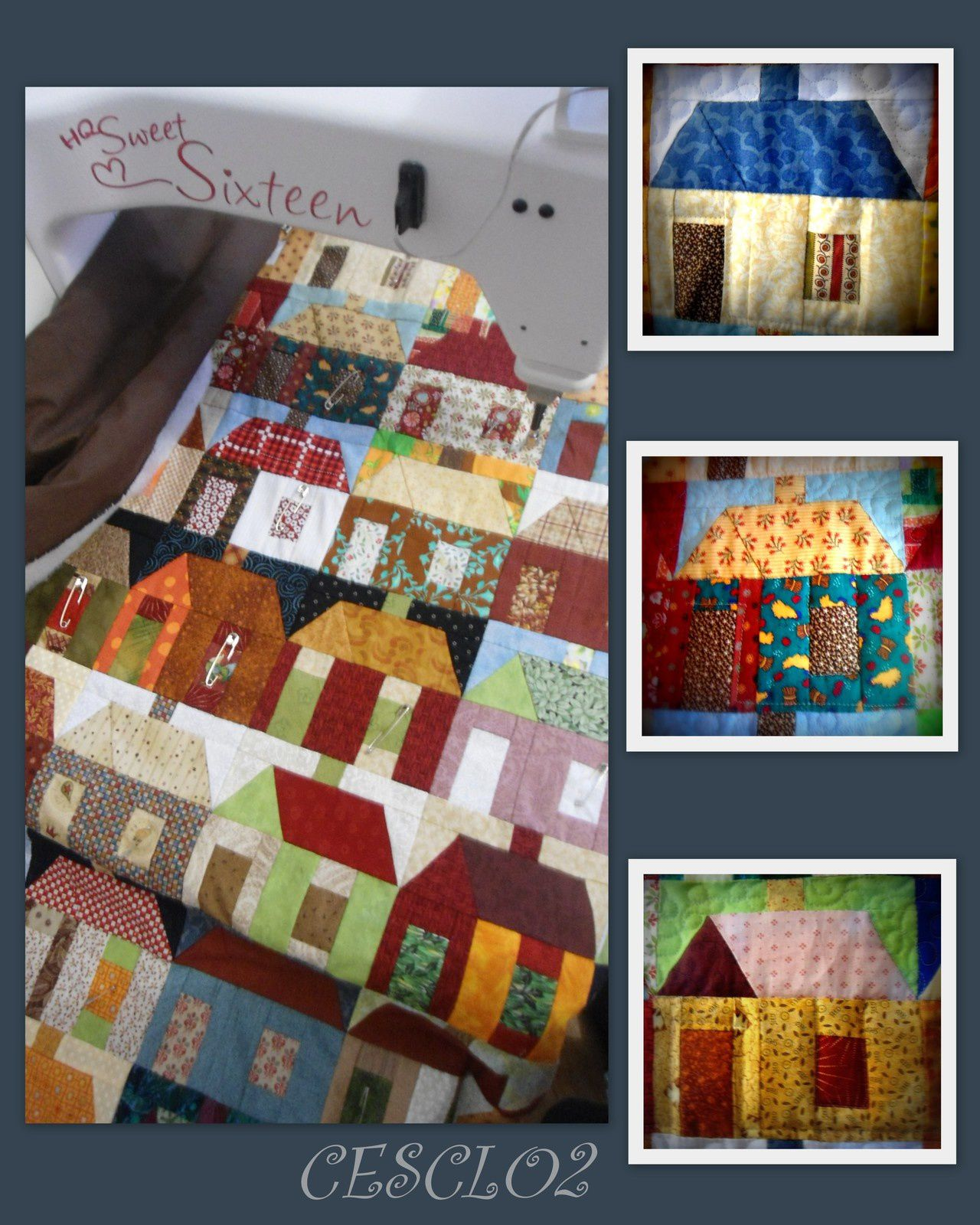 QUILTING top maisons