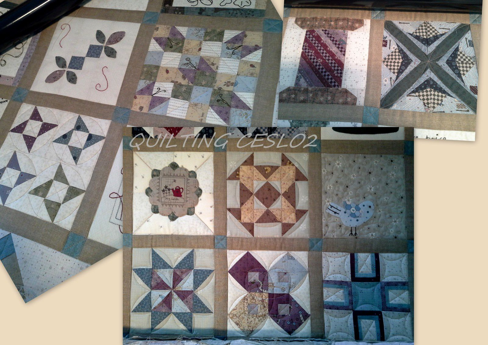 The Splendid Sampler en mode quilting