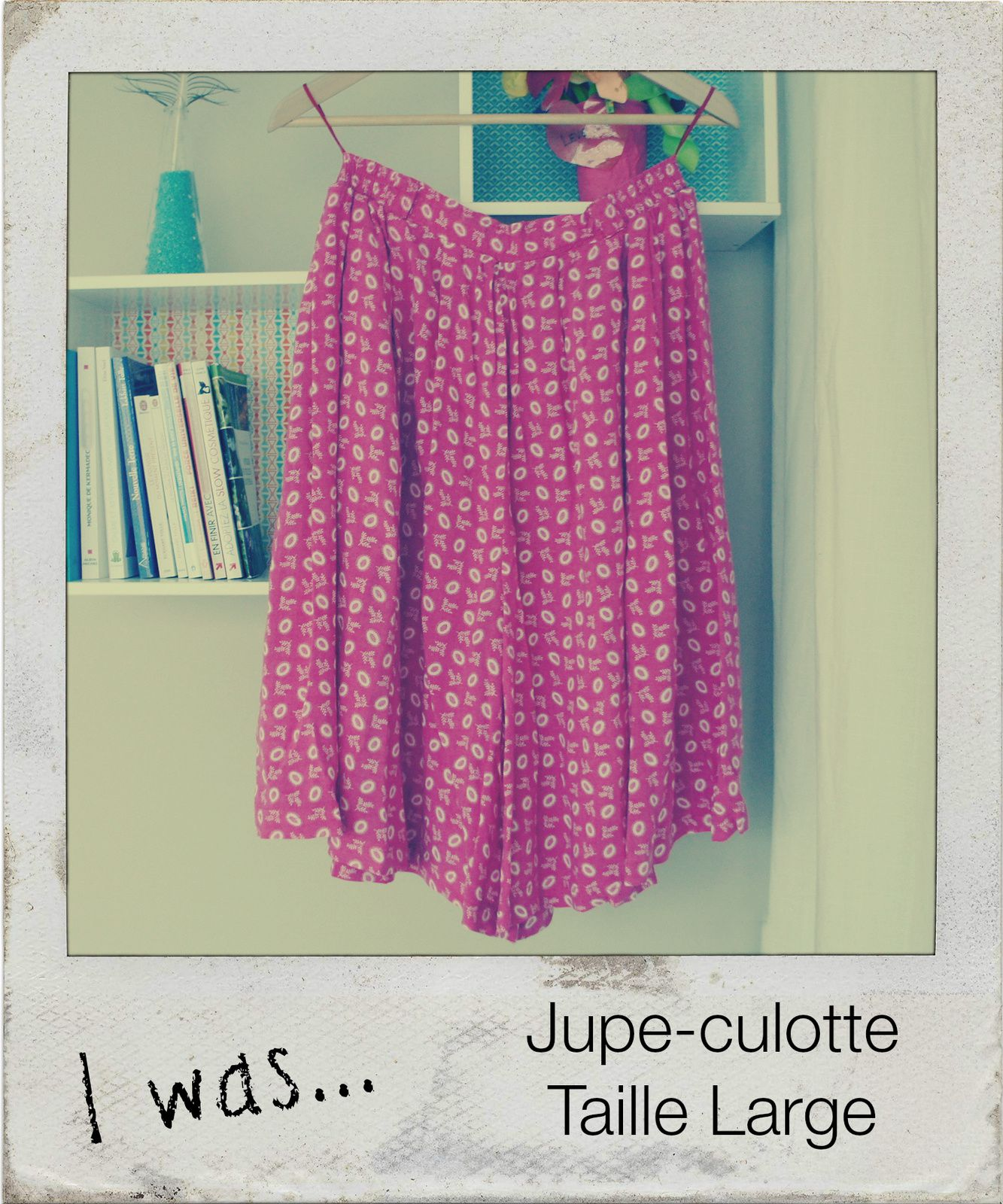Recycled: d'une jupe-culotte, deux robes