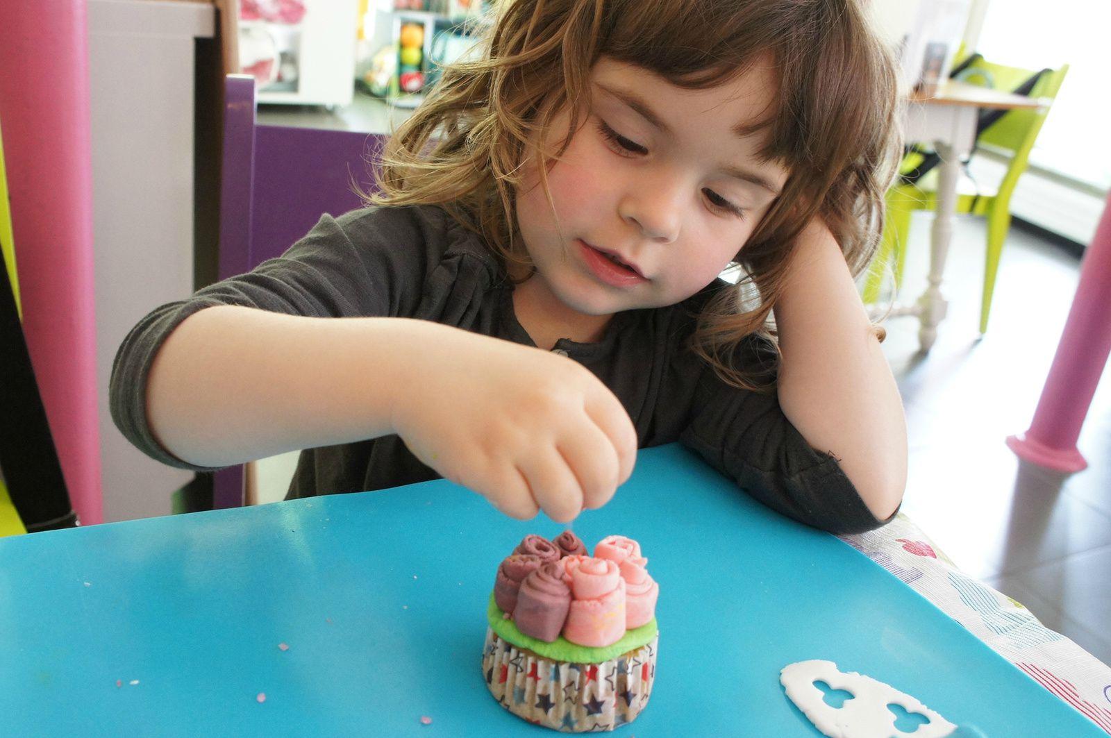 Atelier déco cupcake au Haricot Magique