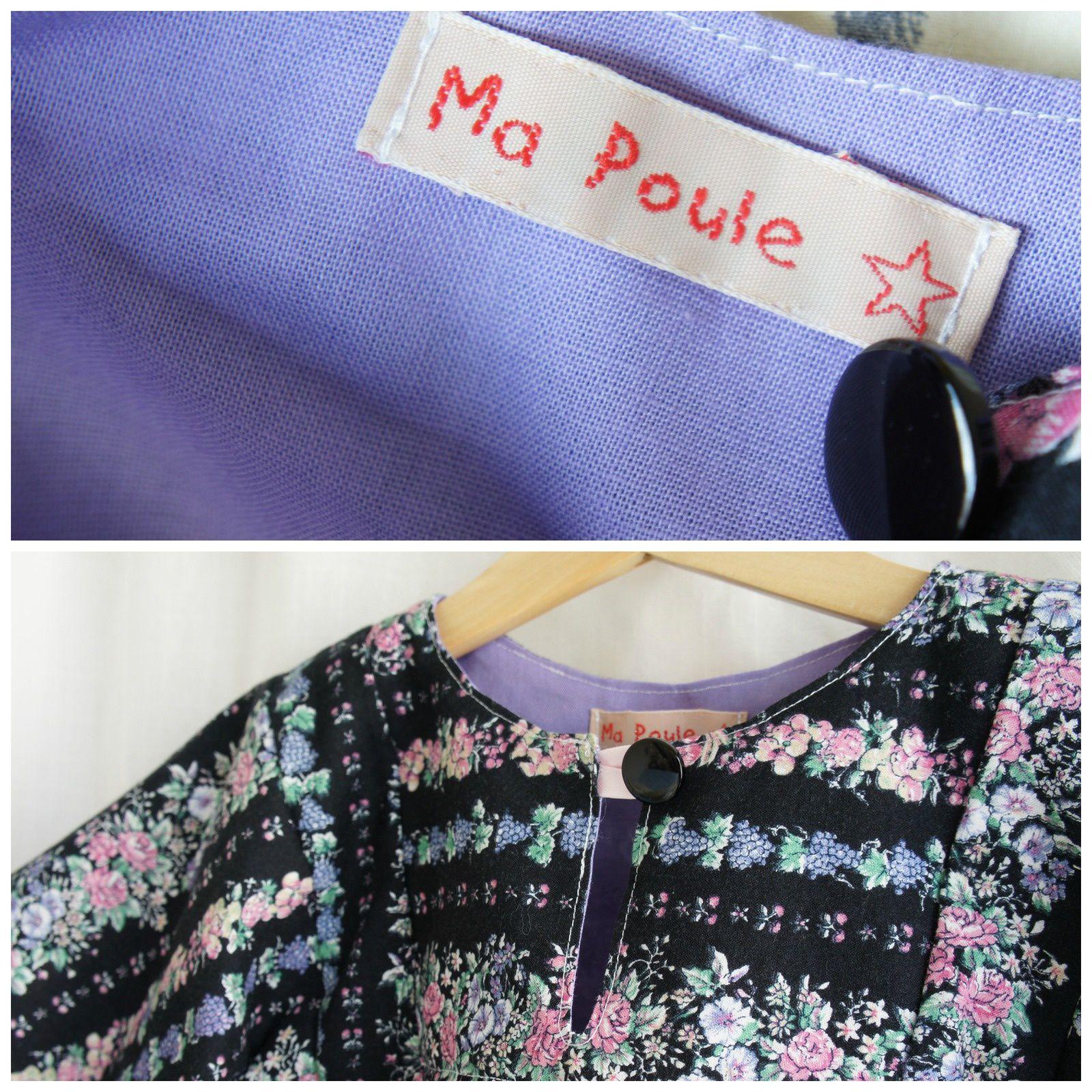 La robe (taille 4 ans) est disponible à l'achat ou dans le cadre d'une location d'un pack Tale Me. L'occasion vous est offerte de venir essayer les vêtements ces dimanches 22 et 29 juin à la Tricoterie, à Saint-Gilles.