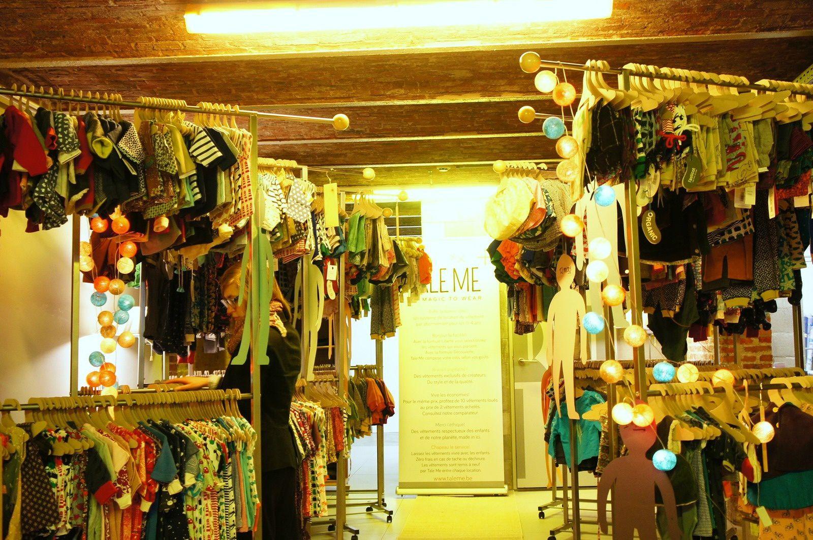 TALE ME // Le showroom!