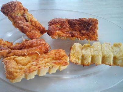 Quiche sans pâte-Dany (lingots cannelés)
