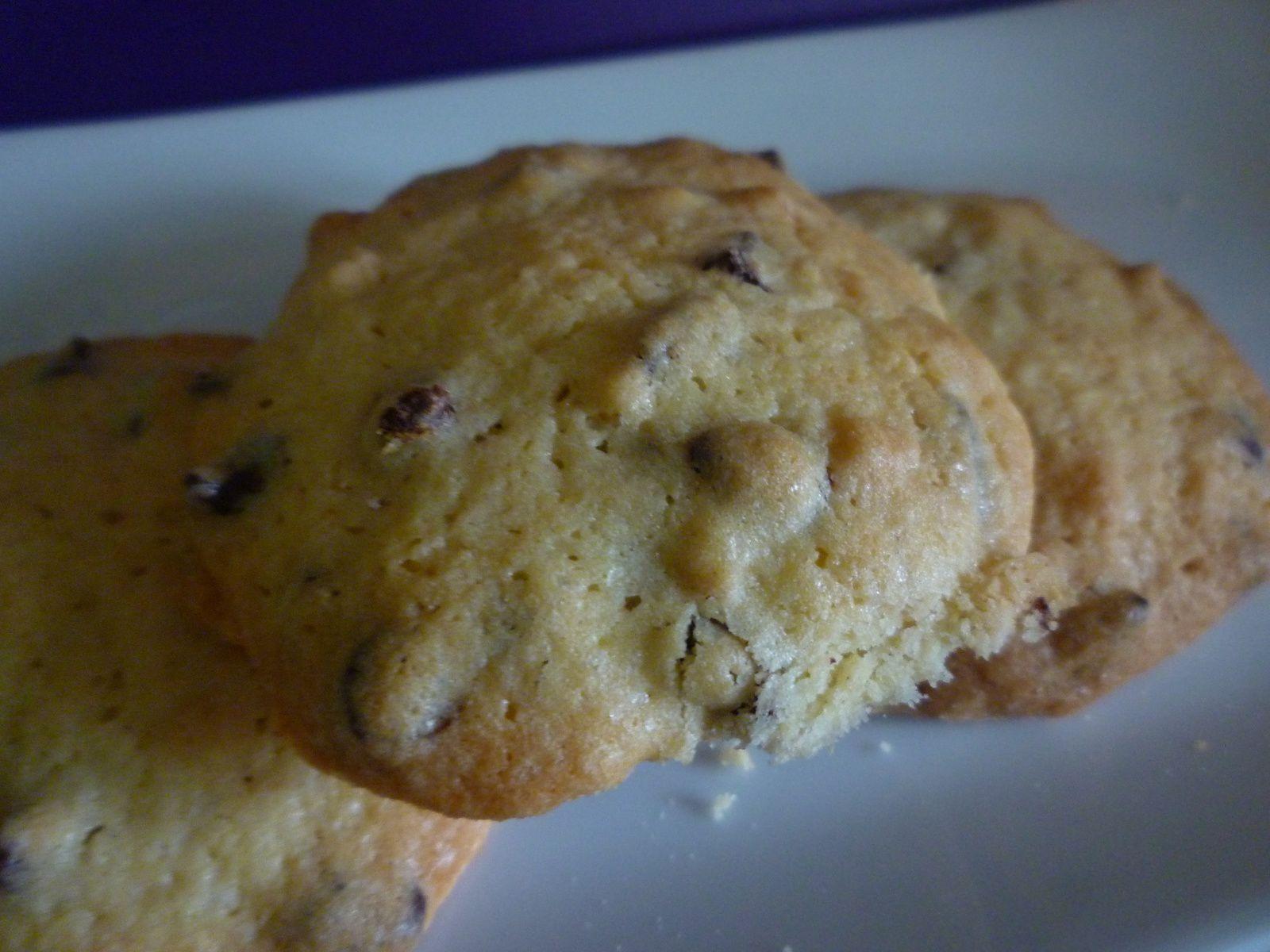 Cookies Gourmands aux Amandes et Pépites de Chocolat