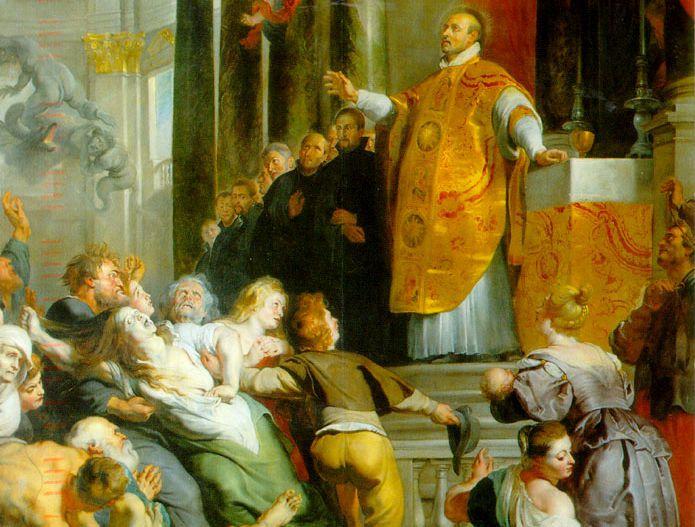 Les Miracles de saint Ignace de Loyola, Rubens (détail)•