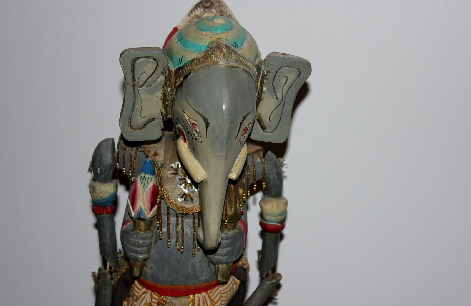 Quelques photos du Ganesh à double visage....