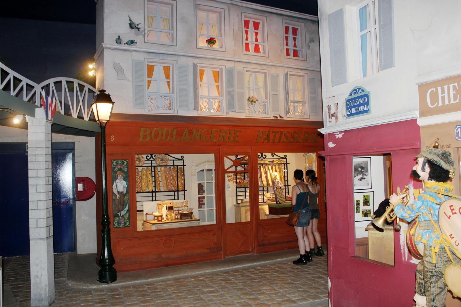 Montmartre à La Rochelle. Musée des Automates.