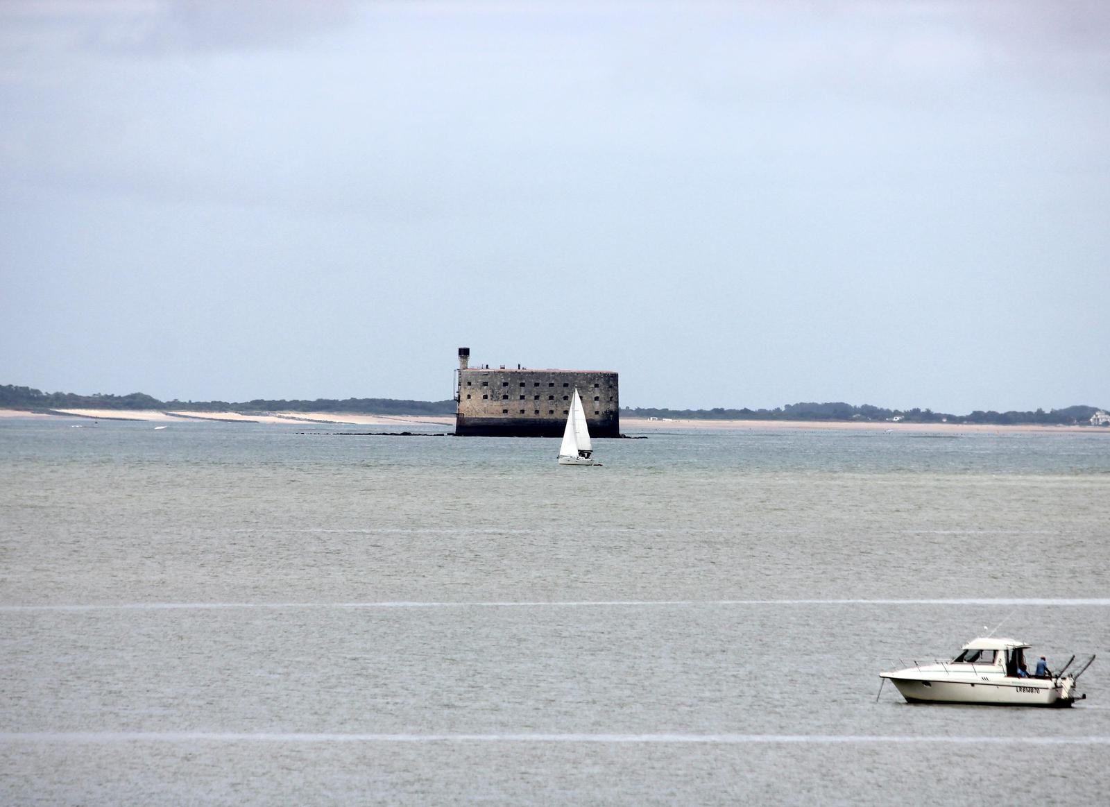 fort boyard et l'île d'Oléron