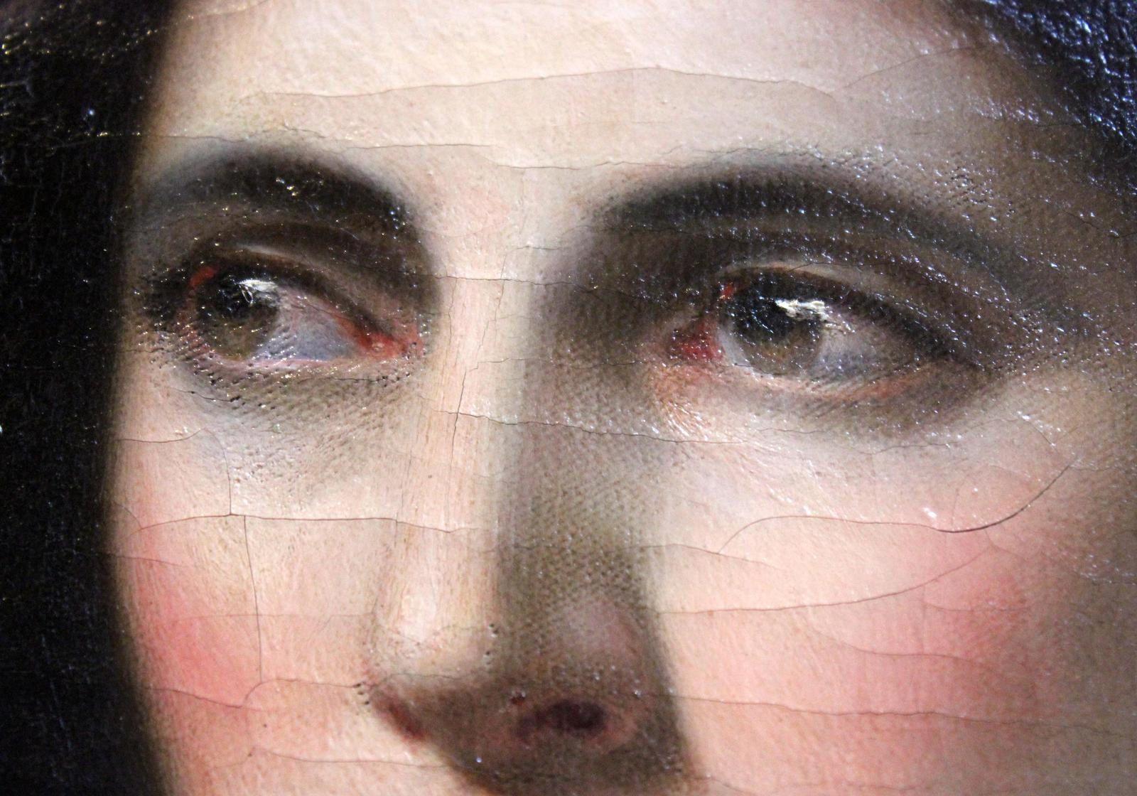 Omer Charlet. Mère au chevet de son enfant mort. Musée de la Rochelle.
