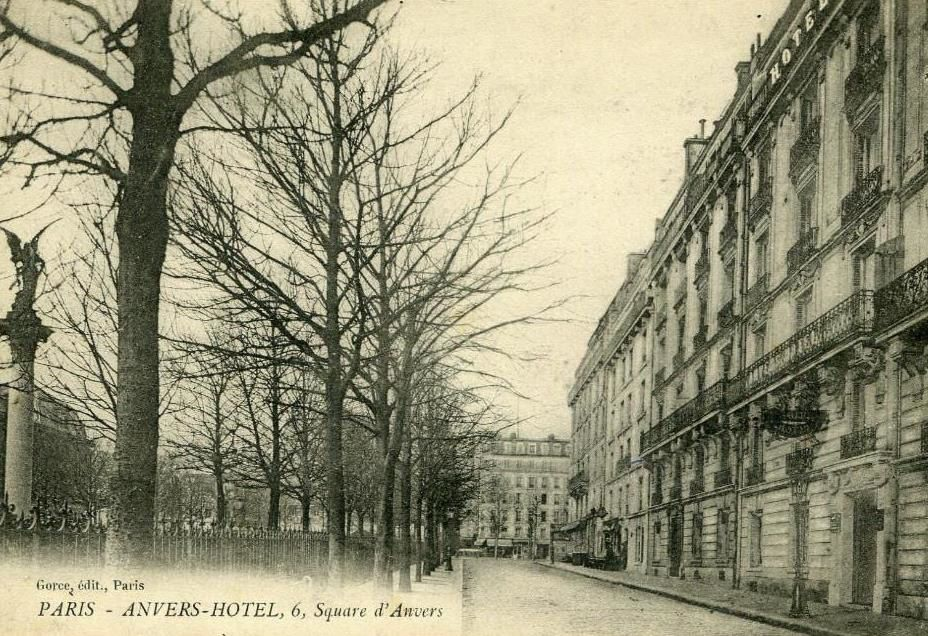 La place d'Anvers