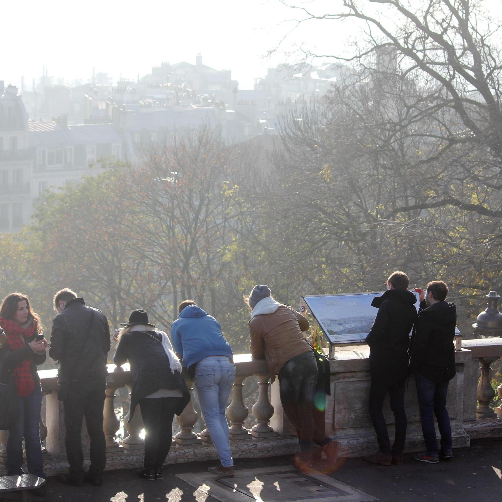 Une terrasse pour suivre l'évolution du XVIIIème!