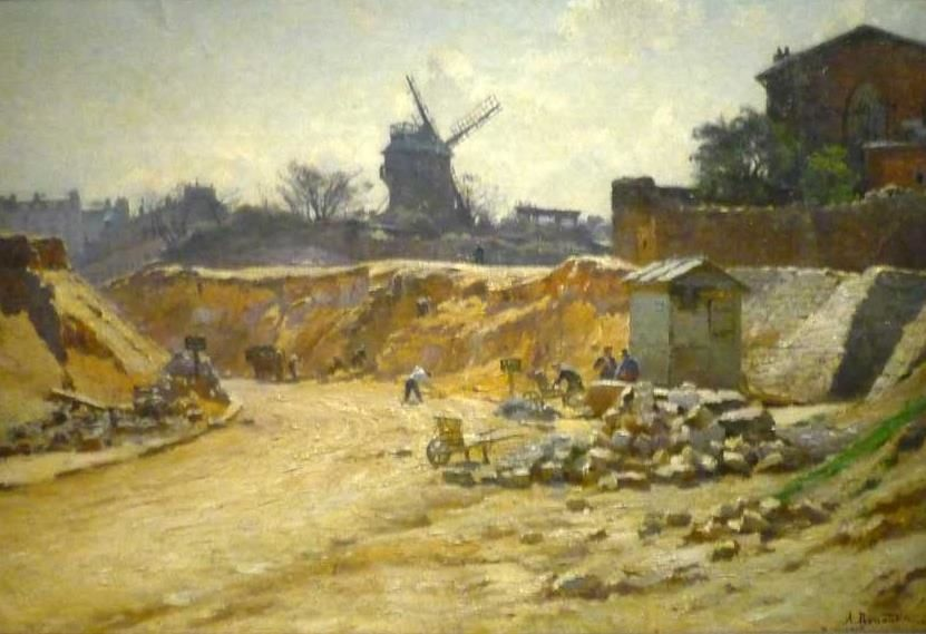 Avenue Junot. Percement de l'avenue. Renaudin (1913)
