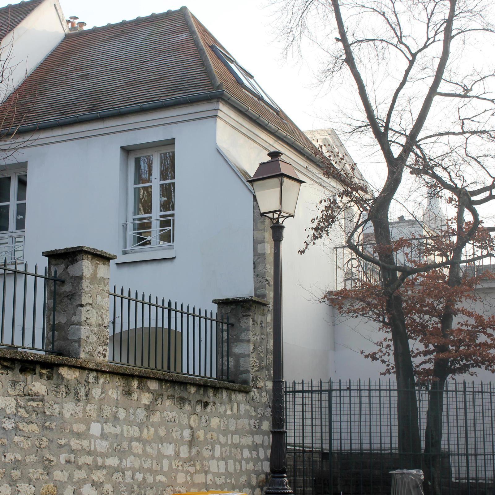 La Folie Sandrin. Montmartre. Rue du Mont Cenis.