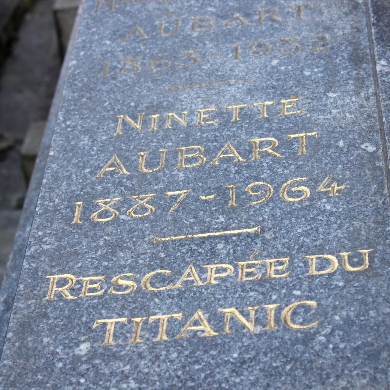 Ninette Aubart 1887-1964 - Rescapée du TITANIC