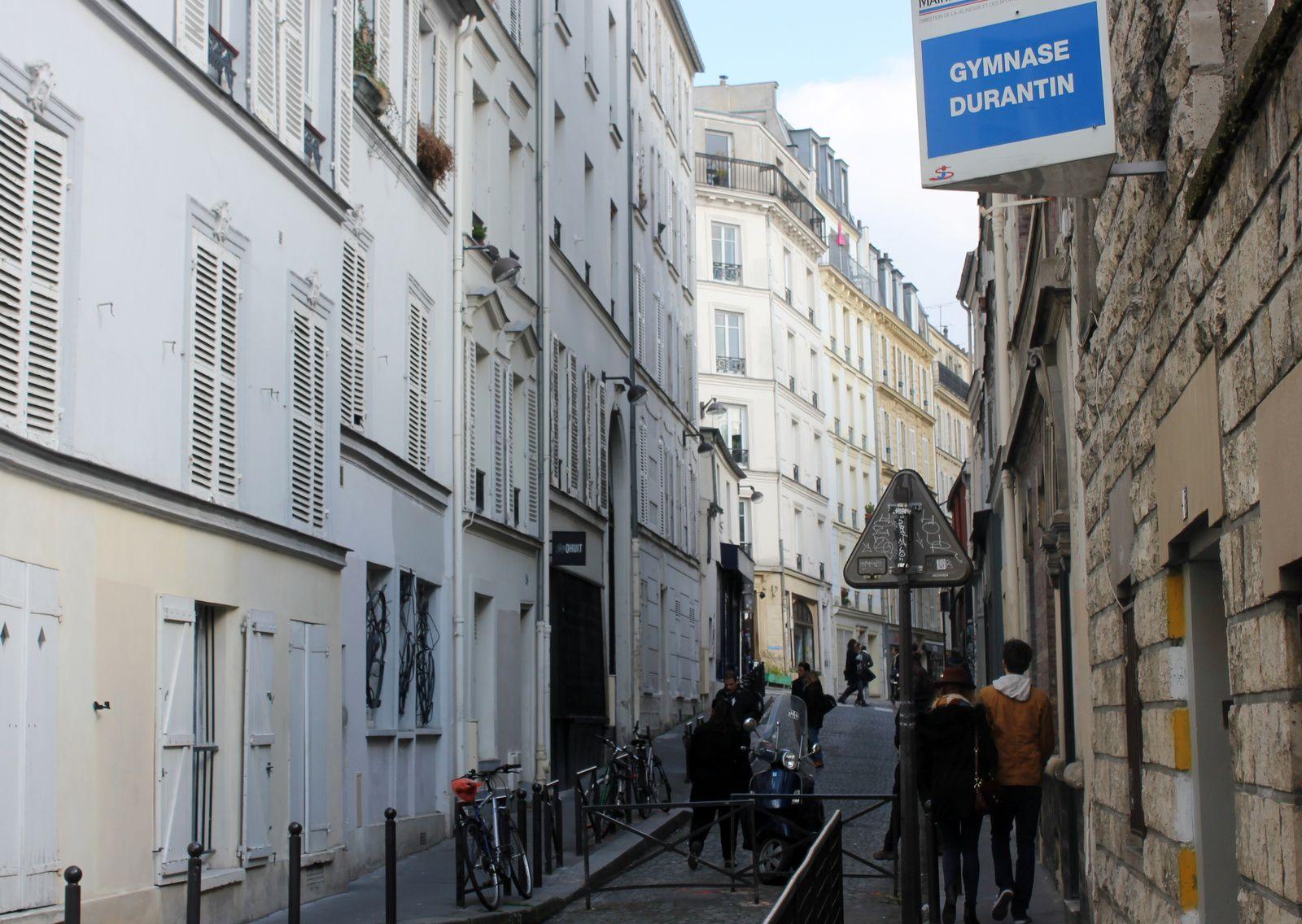 Rue Durantin. Montmartre.