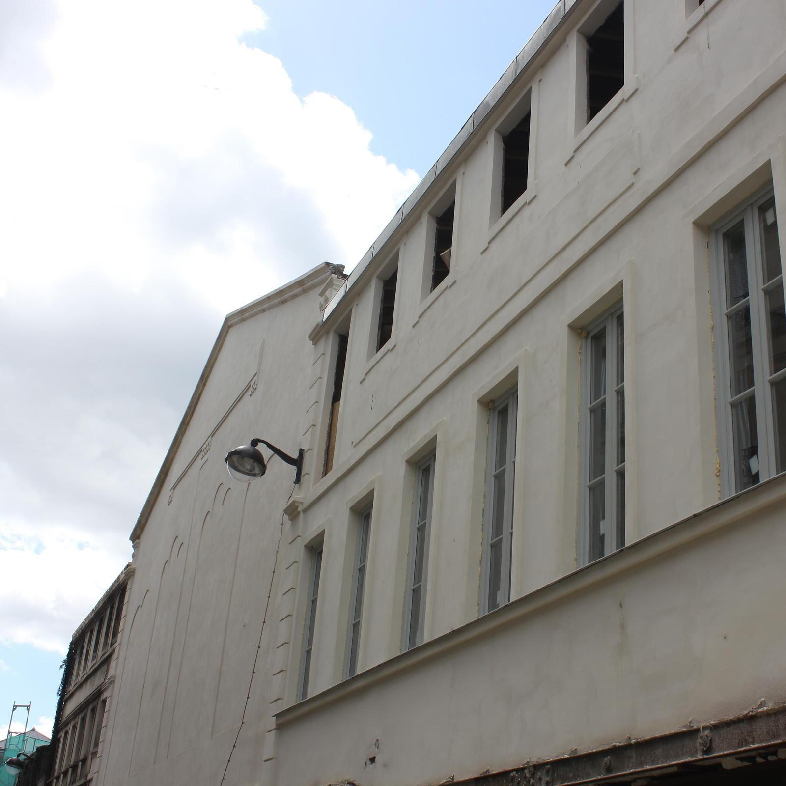 Façade de l'Elysée Montmartre sur la rue de Steinkerque.