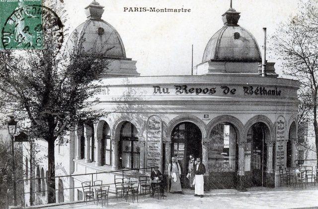 La rue Foyatier. Montmartre.