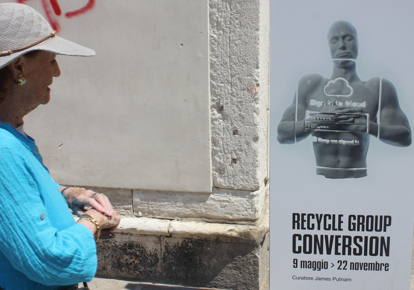 Venise. Recycle group conversion. Eglise Sant Antonin.