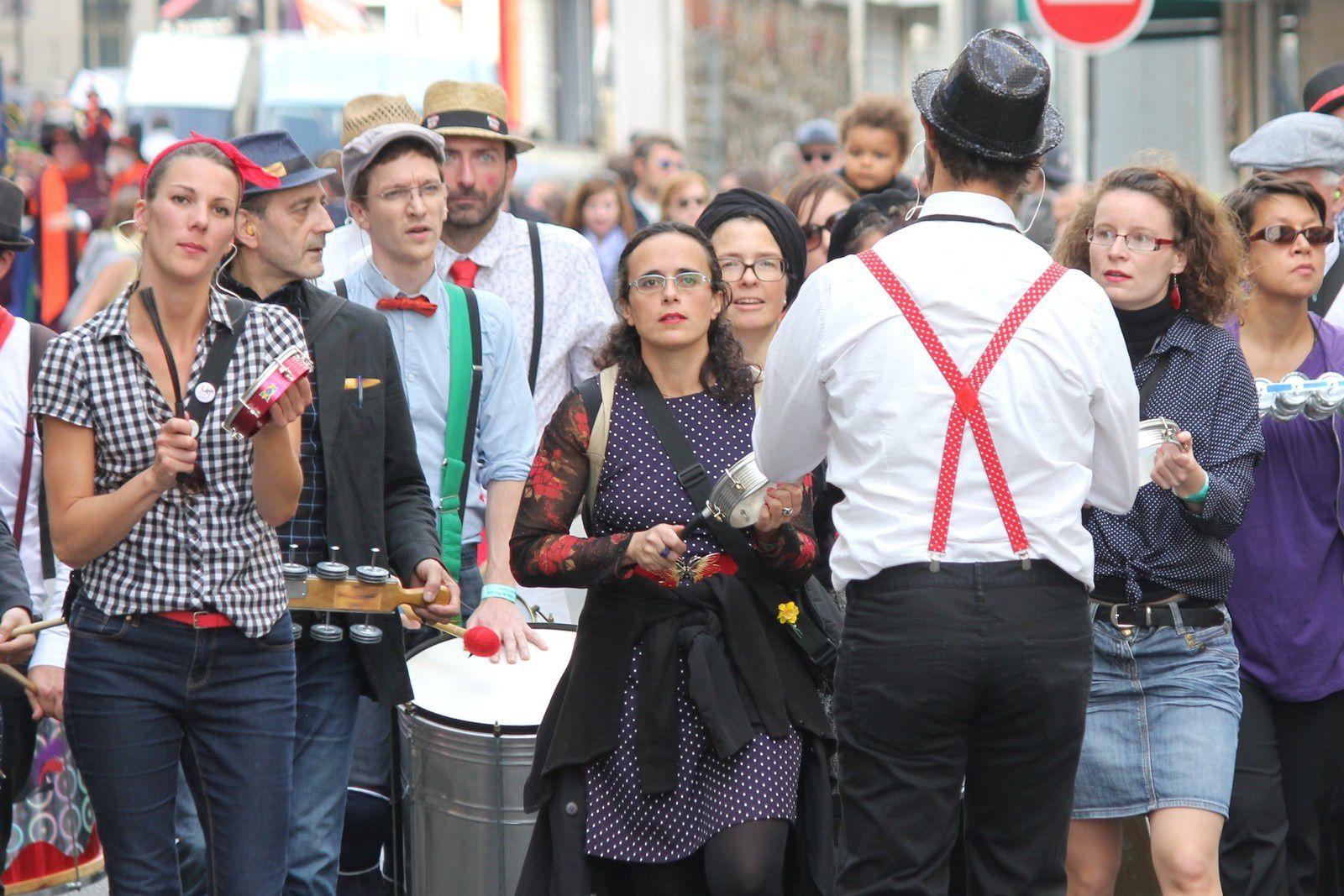 Fête des vendanges. Défilé 10 octobre 2015. Photos. Montmartre.