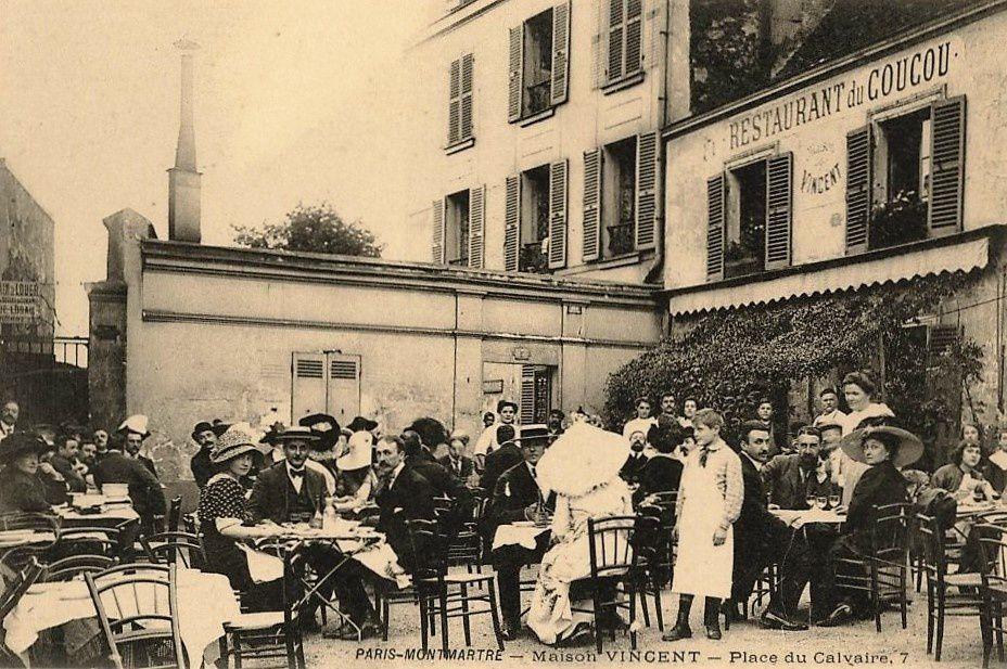 La place du Calvaire. Montmartre. Neumont. Icart. Plumeau.